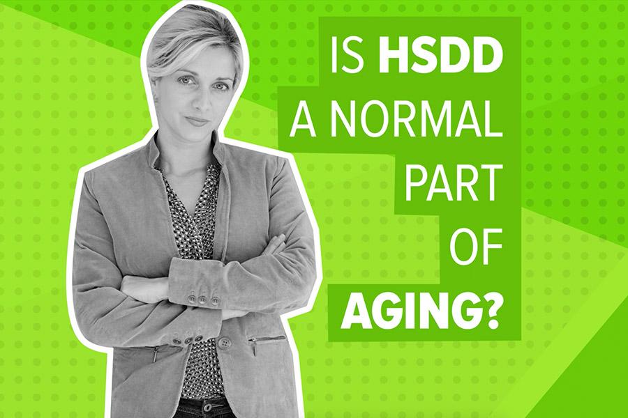 Cela fait partie du vieillissement ?